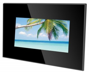 "7"" DIGITAL PHOTO FRAME (BLACK ACRYLIC FRAME)"