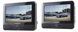 "7"" DUAL SCREEN PORTABLE DVD PLAYER"