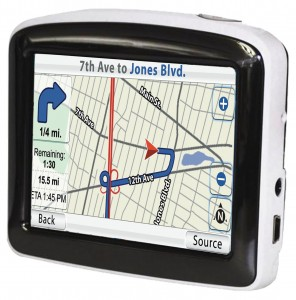 "3.5"" GPS SYSTEM (CANADA & 48 US STATE MAPS)"
