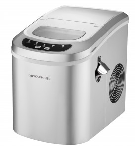 COMPACT ICE MAKER WITH BOTTLE OPENER AND ICE SCOOP