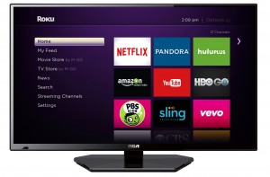 "32"" SMART TV D-LED TV - ROKU READY"