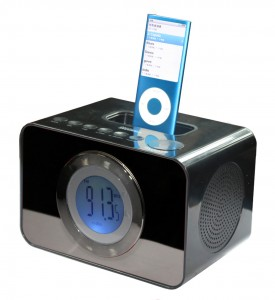 IPOD DOCK CLOCK RADIO