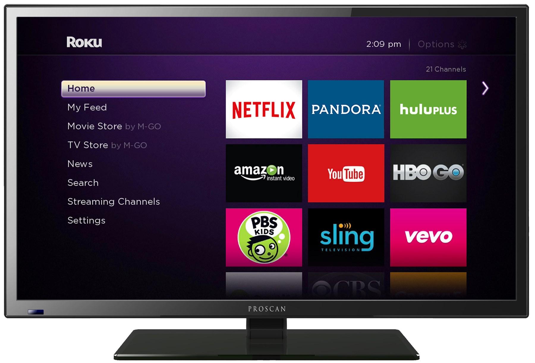 "32"" SMART TV D-LED TV - ROKU READY"