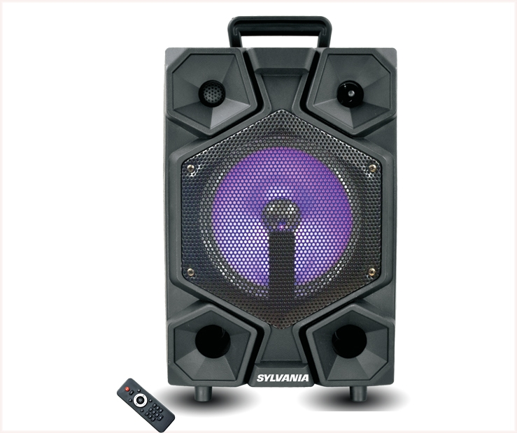 8″ BLUETOOTH TAILGATE SPEAKER WITH MIC| Curtis International